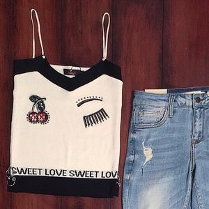 NEW- Sweet Love 🍒 Top